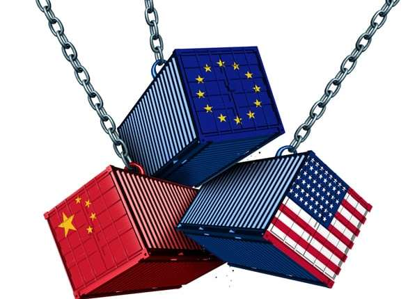 US-China Trade War Effect on the EU